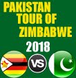 Pakistan tour of Zimbabwe 2018