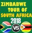 Zimbabwe tour of South Africa 2018